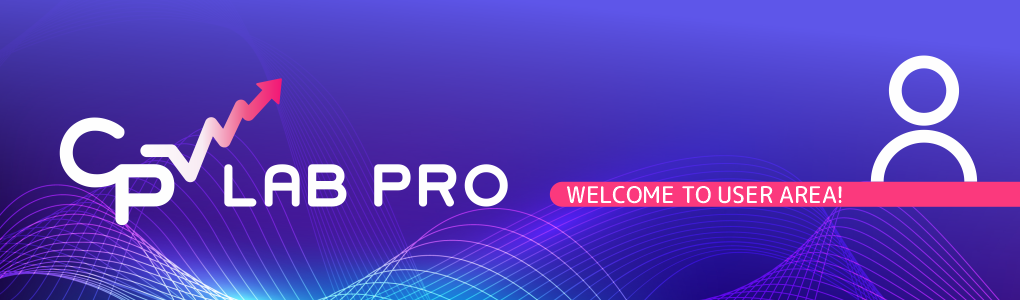 Welcome to CPV Lab Pro User Area